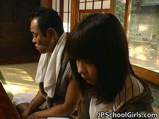 Haru sakuragi 아시아의 여학생 has 섹스