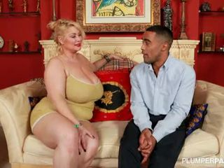 chubby, bbc, interracial