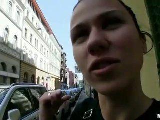 Czech girl Denise Sky ripped for money