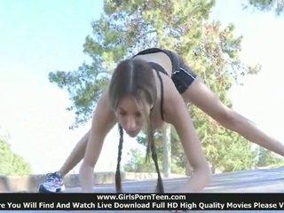 kwaliteit sport klem, flexibele, meer buiten- porno