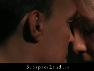 Subspace Land: Horny for sub experience with blonde lianna