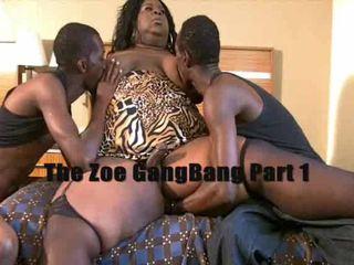 BBW Shemale JuicyNikki In Threesome