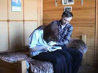 Young Russian couple