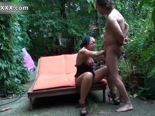 Брудна блудниця gets її манда banged жорсткий