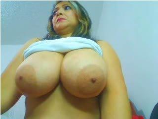 Webcams 2014 - colombian milf w reusachtig tieten 2
