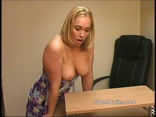 heet college, heetste masturberen porno, blond