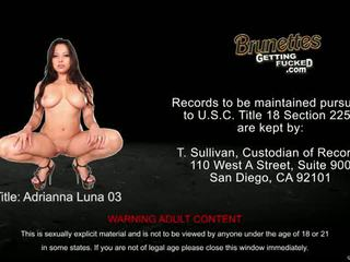 see brunette, big boobs, real cowgirl vid