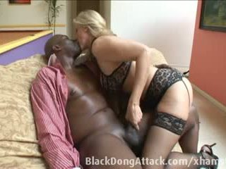 Blond Julia Ann gets fucked by a BBC