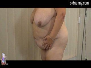 Elder starý striptease a lesbie porno
