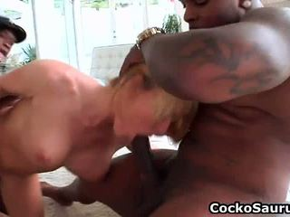 Girl Gets Fucked By Big Black Dick