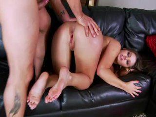 panoorin brunette, magaling nice ass, ideal assfucking pinakamabuti