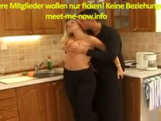 German Babe Gets Bottle In Pussy