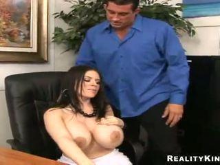 Daphne Rosen Gives A Titjob Till Jumping Onto A Ram Dong