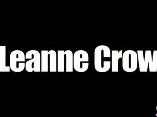 Leanne Crow Peach Lingerie