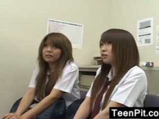 Jaapani schoolgirls saama mustanahaline mailed