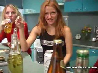 ideaal realiteit, echt tieners kanaal, mooi partij meisjes actie