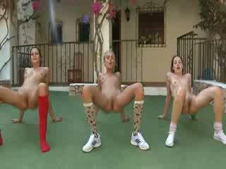Trio ihualasti lesbos tegemine aeroobne