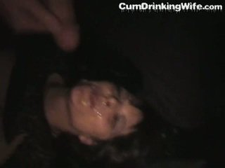 Mature amateur wife hardcore cumshot gangbang