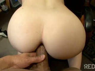 Her tight pussy is filled with hot cum