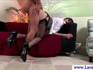mooi doggystyle porno, brits klem, lingerie vid