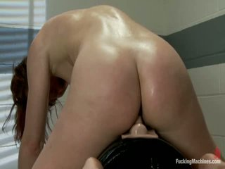 The Princess And The Machines <br> The Girl Next Door Not Ever Thought Her Pussy Could Stretch So Much