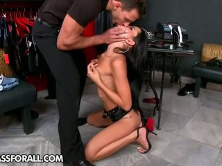 check brunette, kissing you, pussy licking more