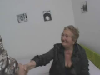 Sexy italian grandma