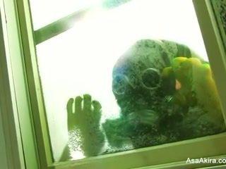Asa akira - zombi anaal creampie