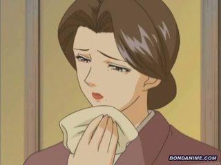 Mitsuko bondage housewife