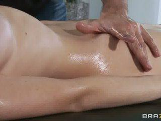 più tacchi alti caldi, facciale, massaggio
