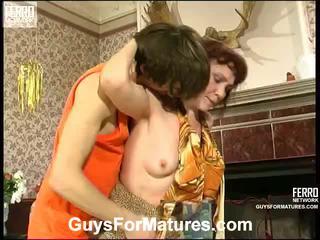 Lillian dan marcus irresistible berumur wanita di dalam tindakan