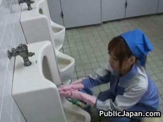 Public Asian Blowjob