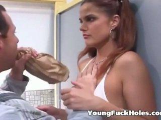 nieuw brunette, online jong, assfucking