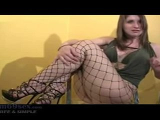 online mollig, groot instructions scène, vol visnetten porno