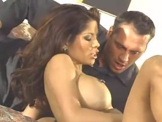 Alexis Amore and two dicks