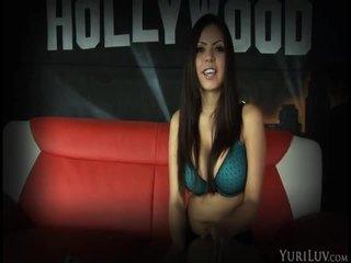 tieten, kwaliteit brunette scène, aanbiddelijk video-
