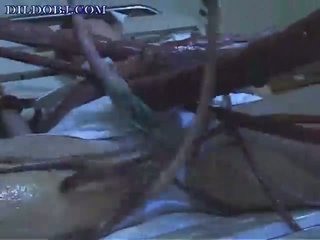 alien tentacles attack a nurse