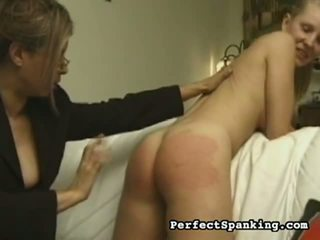 Saucy spanked tart
