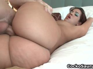 Large Assed Brunette Bitch Drilled Hard