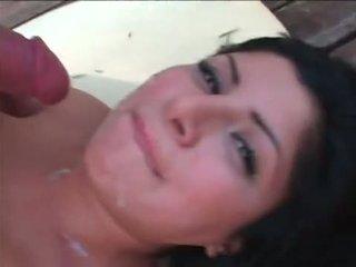 check brunette action, blowjob, babes video