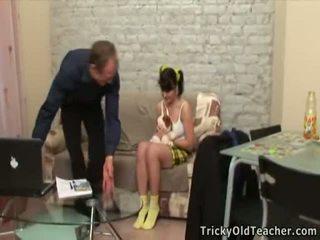 Malibog luma guro seducing ang teenage virgin dalaga.