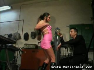 Hot Brutal Punishment Video Starring