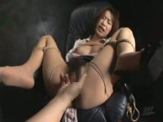 een japanse, kwaliteit rechtdoor actie, kijken dildo