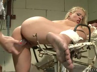 Katy Borman Pumped The Ass Of Hot Chick With Fake Penis
