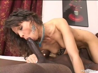 Mom fucking her well hung black stepson