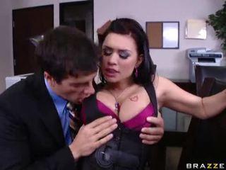 check brunette clip, all fucking porno, white scene