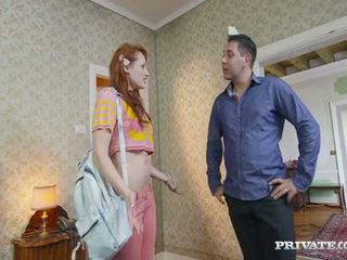 Student Emy Gets Lured Into A Hotel By The Owner