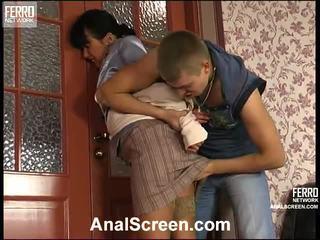 Barbara en patrick geil anaal klem