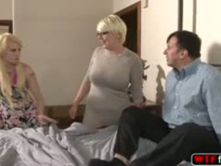 blowjob, perse, threesome, blond