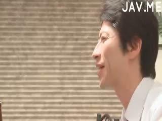 watch brunette, real japanese, cumshot more